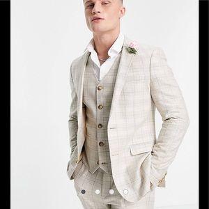 ASOS summer wedding range super skinny suit jacket